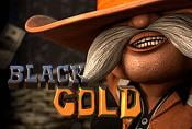 Online Slot Machine Black Gold with Wild Sybols