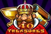 Online Slot Machine 40 Treasures with Scatter Symbol