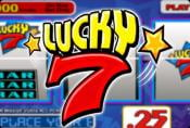 Lucky 7 Slot Games with Jackpot no Download no Registration