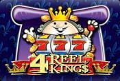 Online Slot 4 Reel Kings for Fun & Free with no Registration