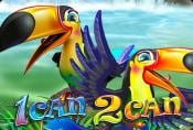 Online Slot 1 Can 2 Can with Scatter Bonus and Risk Game