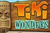 Online Video Slot Machine Tiki Wonders with Special Symbols