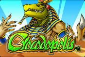 Crocodopolis Online Video Slot with Bonuses and Risk Game
