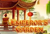 Online Video Slot Machine Emperors Garden no Download
