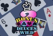 Bonus Deuces Wild Video Poker Slot - Free to Play with Game Review