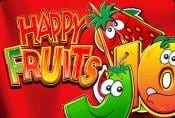 Online Slot Machine Happy Fruits with Bonuses and Risk Game