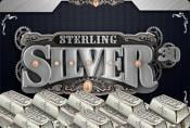 Sterling Silver 3D Slot - Online Game with Risk Round For Free