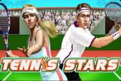 Tennis Stars Slot Game - Play One-Armed Bandit with Risk Game