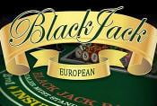 European Blackjack Card Game - Rules of Casino Table Game