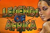 Online Video Slot Machine Legends of Africa Jackpots