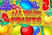 Online Video Slot Machine Allways Fruits no Download