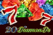 20 Diamonds Slot Machine - Read Game Review and Play for Free