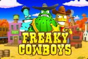 Online Slot Freaky Cowboys with Risk Games