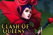 Clash of Queens Slot Game With Wild and Scatter Symbol For Free