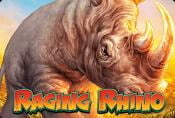 Raging Rhino Video Slot - Choose your Strategy With Free Game