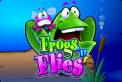 Frogs n Flies Slot Game with Wild And Scatter Symbol