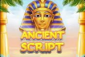 Ancient Script Slot Game - How to Play, Symbols and Payouts