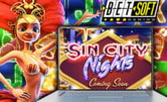 Betsoft Gaming announced a 3D slot machine Sin City Nights